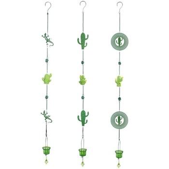 Σπίτι Εορταστικά διακοσμητικά Signes Grimalt Κρεμαστό Cactus T-Lite 3U Verde