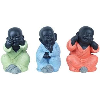 Σπίτι Αγαλματίδια και  Signes Grimalt Ο Βούδας 3 Μονάδες Σεπτέμβριο Multicolor
