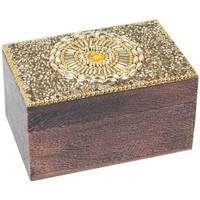 Σπίτι Κουτιά αποθήκευσης Signes Grimalt Ορθογώνιο Κουτί Dorado