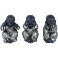 Σπίτι Αγαλματίδια και  Signes Grimalt Ο Βούδας Δεν Go-Oye-Ομιλία Του Σεπτεμβρίου 3U Plateado