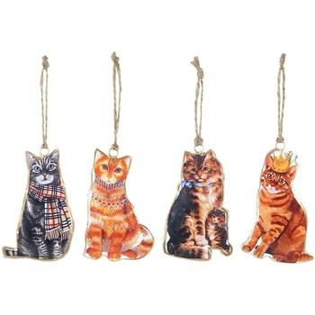 Σπίτι Εορταστικά διακοσμητικά Signes Grimalt Γάτα Κρεμαστά Τον Σεπτέμβριο 4 U Multicolor