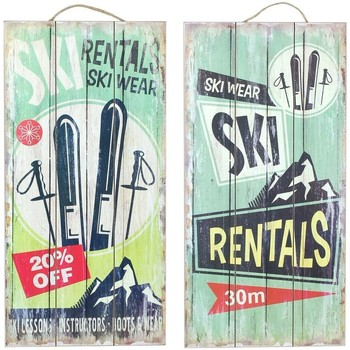 Σπίτι Πίνακες Signes Grimalt Πλάκα Τοίχου 2 Σεπ Μονάδες Multicolor