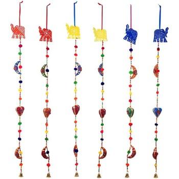 Σπίτι Εορταστικά διακοσμητικά Signes Grimalt Ελέφαντας Κρεμαστό Τον Σεπτέμβριο 6U Multicolor