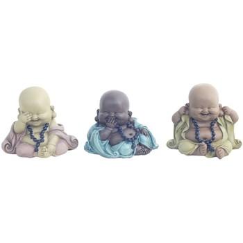 Σπίτι Αγαλματίδια και  Signes Grimalt 3 Διαφορετικές Βούδα, Τον Σεπτέμβριο 3U Multicolor