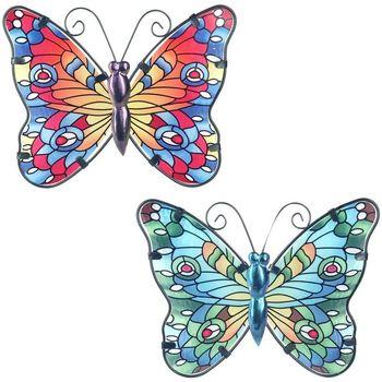 Σπίτι Αγαλματίδια και  Signes Grimalt Μικρή Πεταλούδα 2 U Multicolor
