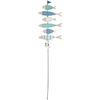 Σπίτι Εορταστικά διακοσμητικά Signes Grimalt Adorno Palo Ψάρια Multicolor