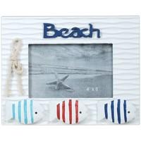 Σπίτι Κορνίζες Signes Grimalt Πλαίσιο Φωτογραφιών Παραλίας Με Ψάρια Multicolor