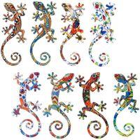 Σπίτι Αγαλματίδια και  Signes Grimalt Lagartos S 8 Διαφορετικές 8U Multicolor