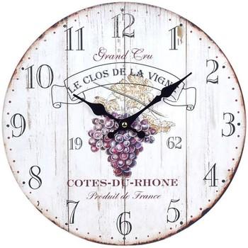Σπίτι Ρολόγια τοίχου Signes Grimalt Ρολόι Τοίχου Κρασιού Blanco