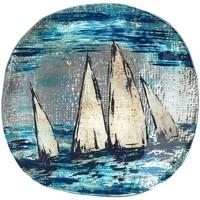 Σπίτι Κουτιά,δοχεία  αποθήευσης Signes Grimalt Γύρος Πιάτο Σκάφος Azul