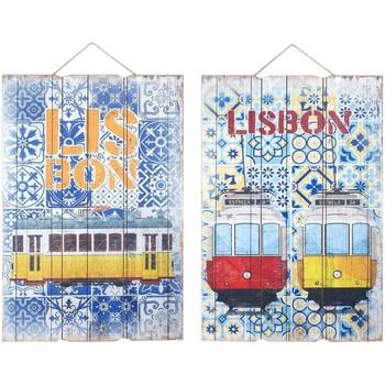 Σπίτι Πίνακες Signes Grimalt Wall Στολίδι Της Λισαβόνας 2 Dif. Multicolor
