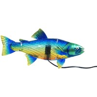Σπίτι Επιτραπέζια φωτιστικά Signes Grimalt Επιτραπέζια Λάμπα Ψάρια Azul