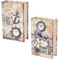 Σπίτι Κουτιά αποθήκευσης Signes Grimalt Book Book 2 Different 2U Multicolor