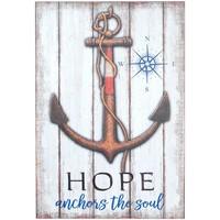 Σπίτι Πίνακες Signes Grimalt Πίνακας Anchor Hope Wall Multicolor