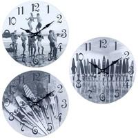 Σπίτι Ρολόγια τοίχου Signes Grimalt Surf Wall Clock 3 Dif. Gris