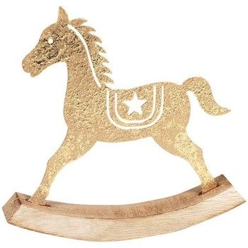 Σπίτι Χριστουγεννιάτικα διακοσμητικά Signes Grimalt Rocking Horse Dorado