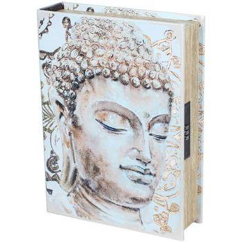 Σπίτι Κουτιά αποθήκευσης Signes Grimalt Βιβλίο Ασφάλεια Box-Buda Beige