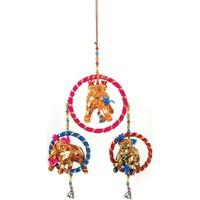 Σπίτι Εορταστικά διακοσμητικά Signes Grimalt Ινδία Μενταγιόν Ελέφαντα Multicolor