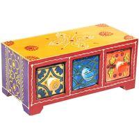Σπίτι Κουτιά αποθήκευσης Signes Grimalt Συρτάρια Spice Rack 3 Multicolor