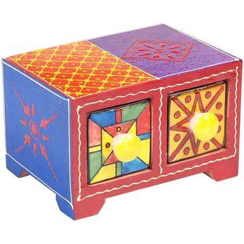Σπίτι Κουτιά αποθήκευσης Signes Grimalt Especiero 2 Συρτάρια Multicolor