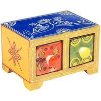 Σπίτι Κουτιά αποθήκευσης Signes Grimalt Συρτάρια Spice Rack 2 Multicolor