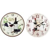 Σπίτι Ρολόγια τοίχου Signes Grimalt Ρολόι Κρασιού 2 Διαφορετικά 2U Multicolor