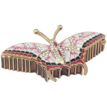 Σπίτι Αγαλματίδια και  Signes Grimalt Cajita Πεταλούδα Σμάλτο Multicolor
