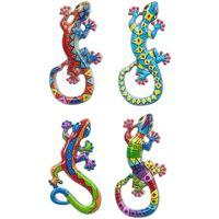 Σπίτι Αγαλματίδια και  Signes Grimalt Μαγνητική Lagartos 4 Dif. Multicolor