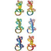 Σπίτι Αγαλματίδια και  Signes Grimalt Μαγνητική Lagartos 6 Dif. Multicolor