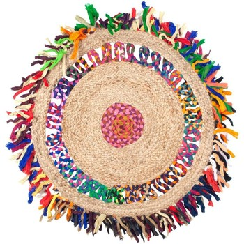 Σπίτι Χαλιά Signes Grimalt Fringes Χαλί Γιούτα Multicolor