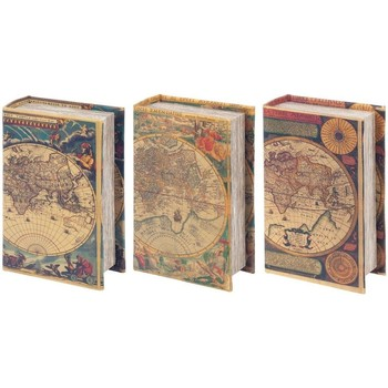 Σπίτι Κουτιά αποθήκευσης Signes Grimalt Boxes Book 3 Dif. World Multicolor