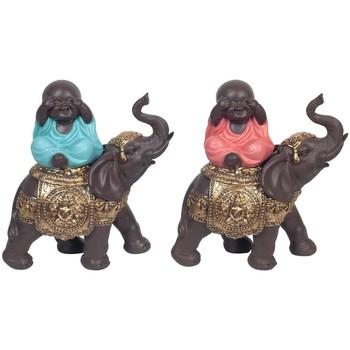 Σπίτι Αγαλματίδια και  Signes Grimalt Βούδας Στις Ελέφαντας Τον Σεπτέμβριο 2U Multicolor
