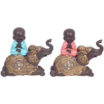 Σπίτι Αγαλματίδια και  Signes Grimalt Ο Βούδας Στο Elephant 2U Multicolor