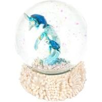 Σπίτι Αγαλματίδια και  Signes Grimalt Μπάλα Νερού Χελώνα Purpurina Multicolor