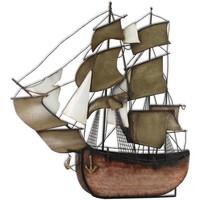 Σπίτι Αγαλματίδια και  Signes Grimalt Στολίδι Ship-Galleon Wall Multicolor