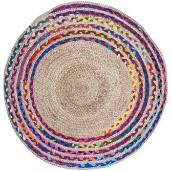 Σπίτι Χαλιά Signes Grimalt Πλεκτά Γιούτα Κουβέρτα Multicolor