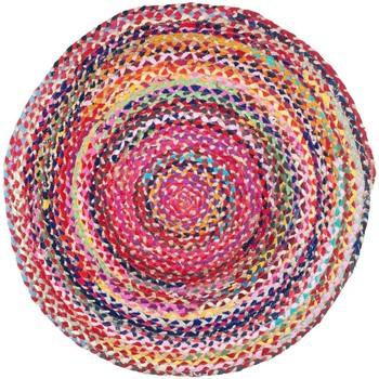 Σπίτι Χαλιά Signes Grimalt Πλεγμένο Χαλί Multicolor