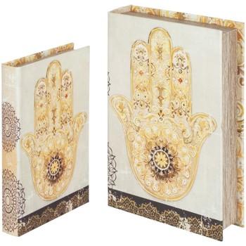 Σπίτι Κουτιά αποθήκευσης Signes Grimalt Χέρι Βιβλίο Φατιμά, Τον Σεπτέμβριο 2U Beige