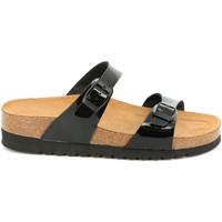 Παπούτσια Γυναίκα Τσόκαρα Grunland CB2433 Μαύρος