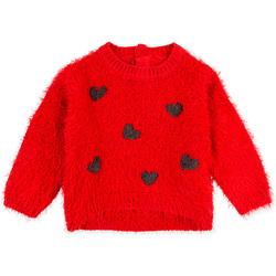 Υφασμάτινα Παιδί Φούτερ Losan 028-5000AL το κόκκινο