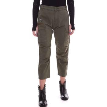 Υφασμάτινα Γυναίκα Παντελόνια Fornarina BE171L90G29231 Πράσινος