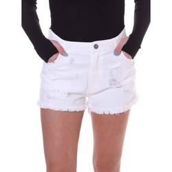 Υφασμάτινα Γυναίκα Σόρτς / Βερμούδες Fornarina BE172B92D877KM λευκό