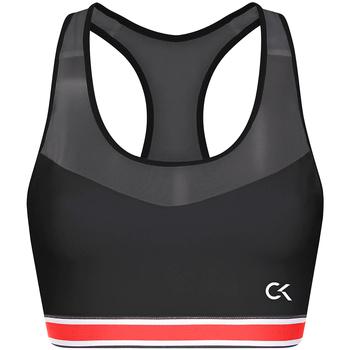 Υφασμάτινα Γυναίκα Αθλητικά μπουστάκια  Calvin Klein Jeans 00GWT9K127 Μαύρος