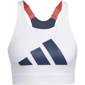 Υφασμάτινα Γυναίκα Αθλητικά μπουστάκια  adidas Originals GL0587 λευκό