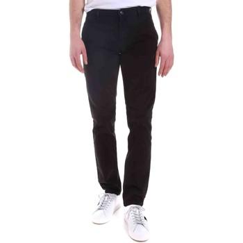 Υφασμάτινα Άνδρας Παντελόνια Gaudi 021GU25006 Μαύρος