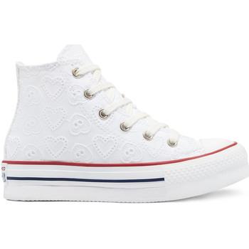 Παπούτσια Παιδί Ψηλά Sneakers Converse 671104C λευκό