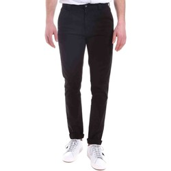 Υφασμάτινα Άνδρας Παντελόνια Chino/Carrot Gaudi 021GU25014 Μαύρος