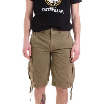 Υφασμάτινα Άνδρας Σόρτς / Βερμούδες Caterpillar 35CC2820928 Πράσινος