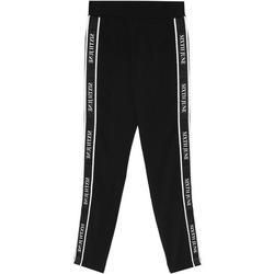 Υφασμάτινα Γυναίκα Φόρμες Sixth June Legging  bande imprimée noir/blanc