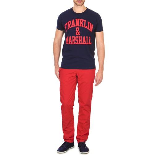 Υφασμάτινα Άνδρας Παντελόνια Chino/Carrot Franklin & Marshall GLADSTONE Red